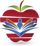 Logo di educazione sanitaria Fotografia Stock