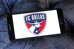 Logo di FC Dallas Soccer Club fotografie stock libere da diritti