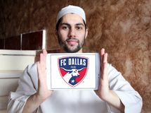 Logo di FC Dallas Soccer Club fotografie stock
