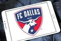 Logo di FC Dallas Soccer Club fotografie stock