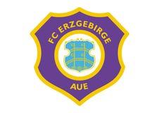 Logo di FC Erzgebirge Aue illustrazione di stock