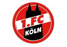 1 Logo di FC Koln illustrazione vettoriale