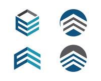 Logo di finanza di affari illustrazione di stock