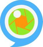 Logo di fotografia Fotografia Stock
