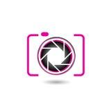 Logo di fotografia della macchina fotografica di Digital Fotografia Stock Libera da Diritti