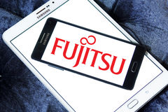 Logo di Fujitsu Immagine Stock