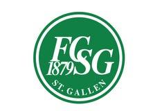 Logo 1879 di Fussballclub Sankt Gallen royalty illustrazione gratis