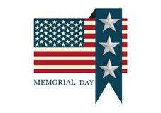 Logo di Giorno dei Caduti Fotografia Stock