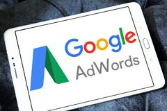 Logo di Google AdWords immagine stock libera da diritti