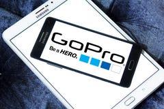Logo di Gopro Immagine Stock