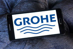 Logo di Grohe Fotografie Stock