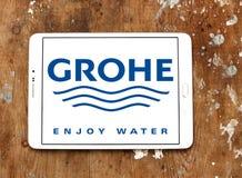 Logo di Grohe Immagine Stock