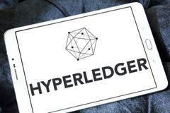 Logo di Hyperledger immagine stock