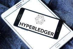 Logo di Hyperledger fotografia stock libera da diritti