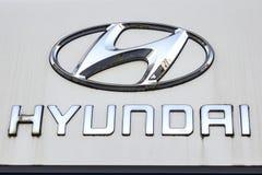 Logo di Hyundai Fotografie Stock