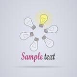Logo di idea Immagini Stock