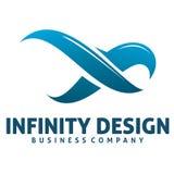 Logo di infinito Immagine Stock