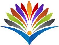 Logo di istruzione illustrazione di stock