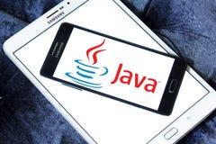 Logo di Java immagini stock