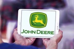 Logo di John Deere Fotografia Stock Libera da Diritti