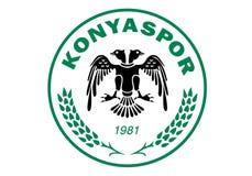 Logo di Konyaspor royalty illustrazione gratis