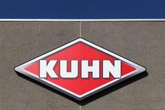 Logo di Kuhn su una parete Fotografia Stock