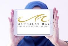 Logo di Las Vegas della località di soggiorno e del casinò della baia di Mandalay Immagine Stock Libera da Diritti