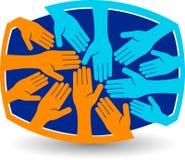 Logo di lavoro di squadra royalty illustrazione gratis