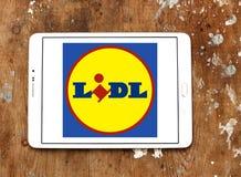 Logo di Lidl Fotografia Stock