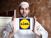 Logo di Lidl Fotografia Stock Libera da Diritti
