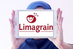 Logo di Limagrain Groupe Fotografia Stock