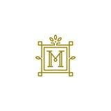 Logo di m. Immagine Stock Libera da Diritti