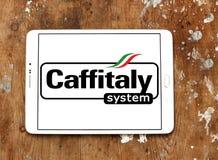 Logo di marca del sistema di Caffitaly Fotografia Stock Libera da Diritti