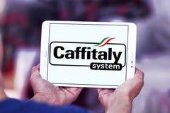 Logo di marca del sistema di Caffitaly Fotografia Stock