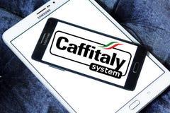 Logo di marca del sistema di Caffitaly Fotografie Stock Libere da Diritti
