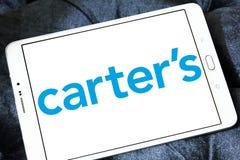 Logo di marca dell'abbigliamento del ` s di Carter Fotografie Stock Libere da Diritti