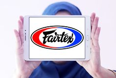Logo di marca dell'abbigliamento di Fairtex Fotografia Stock Libera da Diritti