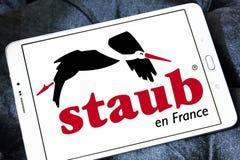 Logo di marca delle pentole di Staub Immagine Stock