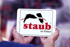 Logo di marca delle pentole di Staub Fotografie Stock Libere da Diritti