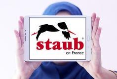 Logo di marca delle pentole di Staub Fotografie Stock