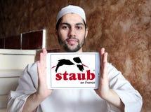 Logo di marca delle pentole di Staub Immagine Stock Libera da Diritti