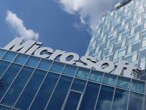 Logo di Microsoft Corporation Immagini Stock