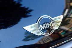 Logo di MINI Cooper immagini stock