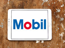Logo di Mobil fotografia stock