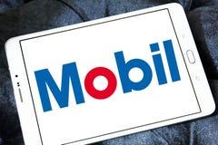 Logo di Mobil immagini stock