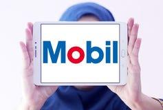 Logo di Mobil immagine stock