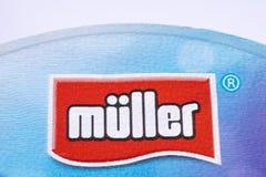 Logo di Muller Company Fotografia Stock