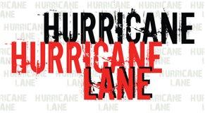 Logo di notizie dell'intestazione dell'errore di uragano per progettazione o l'illustrazione dell'insegna Logo di notizie di urag illustrazione vettoriale