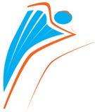 Logo di nuoto Fotografie Stock Libere da Diritti