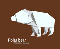Logo di Orvhami con l'orso polare Fotografia Stock